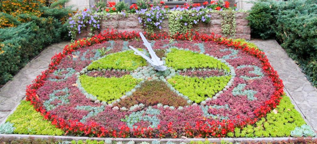 Zeitmanagment, die Lösung, Blumenuhr